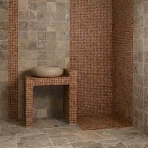 dalles carrelage travertin gris opus indoor by