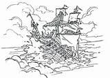 Coloring Pages Ship Pirate Sunken Pearl Pirates Drawing Caribbean Oasis Cruise Getcolorings Sinking Printable Drawings Own Getdrawings Paintingvalley Colorings Cartoons sketch template