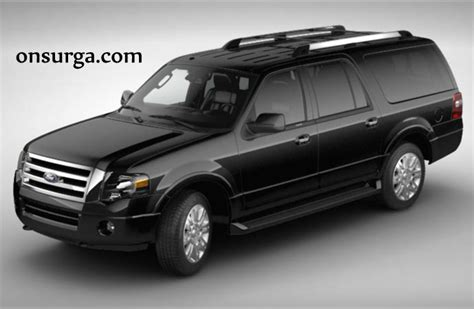 2012 Ford Expedition Black Onsurga