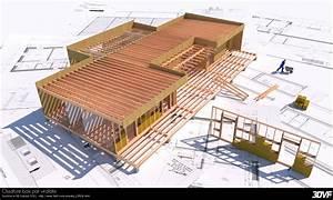 www3dvfcom portfolio de dupont de dinechin matthieu With maquette d une maison 13 ossature bois