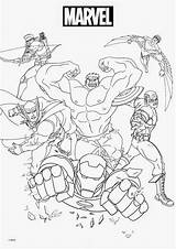 Marvel Coloring Pages sketch template