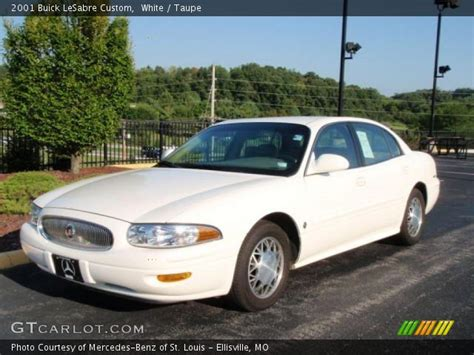 2001 Buick Lesabre Custom by White 2001 Buick Lesabre Custom Taupe Interior