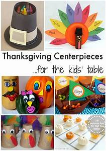 Thanksgiving, Centerpieces, For, The, Kids, U2019, Table