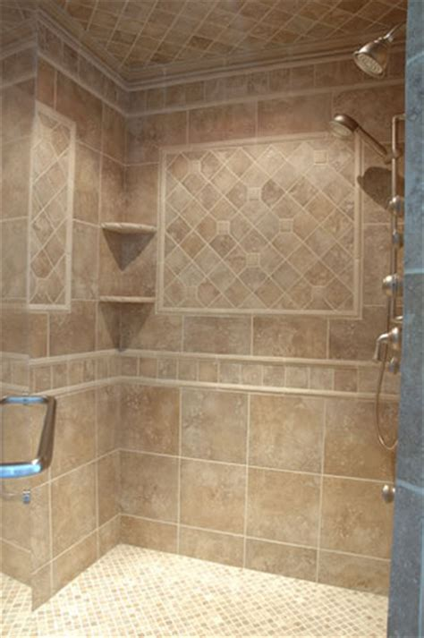 bathroom tile ideas custom tiled shower flickr photo