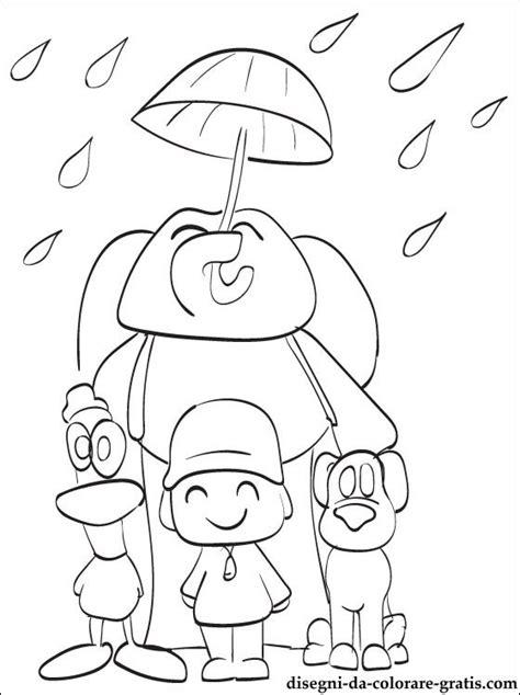 tutti  personaggi  pocoyo da colorare disegni da