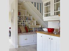 Creative ways to use the space under the stairs Ideal Home