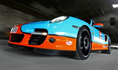 gulf racing livery  cam shaft   porsche  turbo