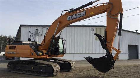 case cxc excavator  hydraulic thumb installed youtube