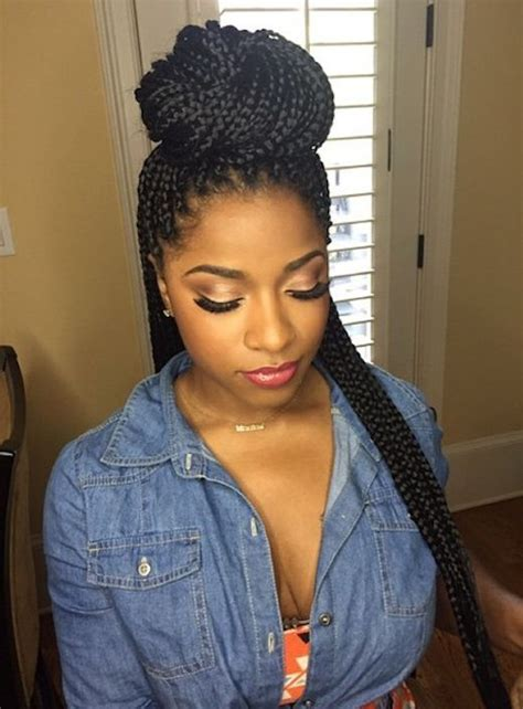 1000 ideas about box braid styles on pinterest box braids