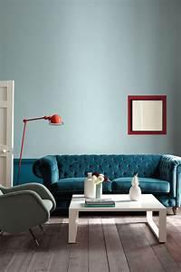 deco salon couleur tendance exemples d39amenagements With couleur tendance deco salon