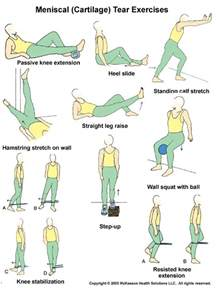 Physical Therapy Knee Exercises Meniscus