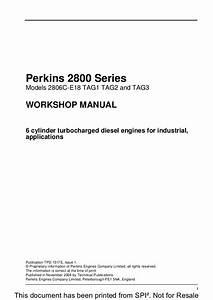 Perkins 2800 Series 2806c