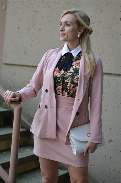 Blush Pink Skirt Suit And My Fashion Bucket List