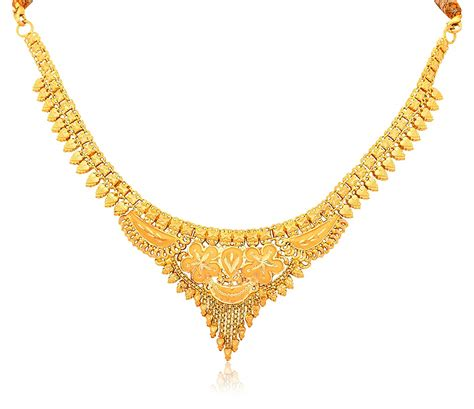 Gold Images Necklace