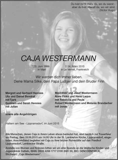 bilder von caja westermann