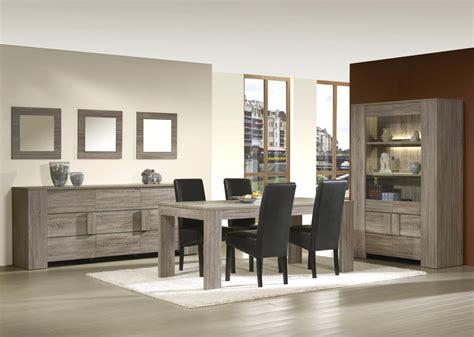 chaise monsieur meuble salle à manger contemporaine coloris truffe oak simon
