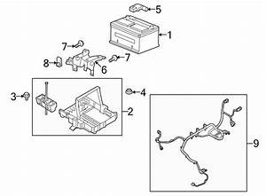 Ford Taurus X Battery Tray  To 2  26  09  Telematics