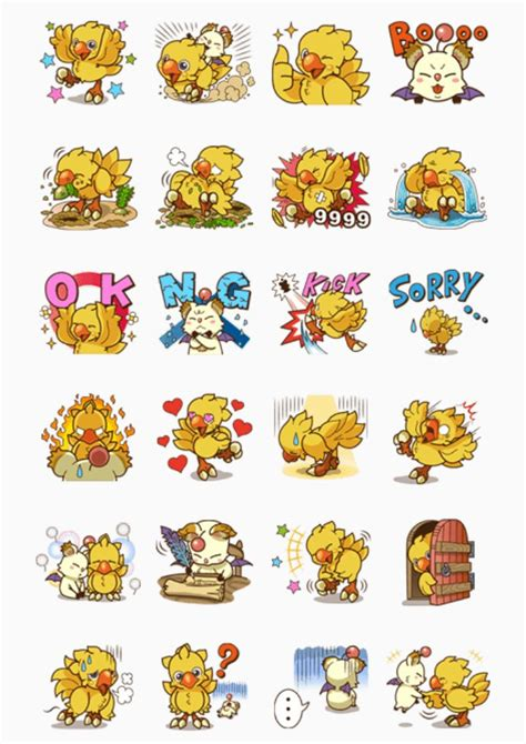 Here you can find the best chocobo wallpapers uploaded by our community. Final Fantasy Chocobo | Sticker art, Free printable stickers