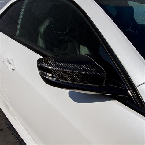 ats coupe carbon fiber mirror covers  renick performance