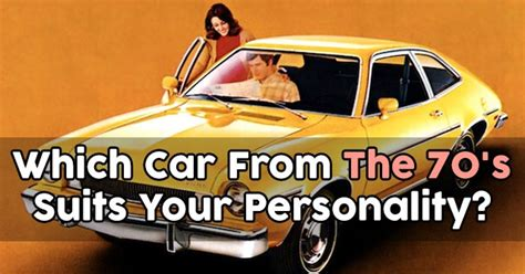 What Car Suits Your Personality?
