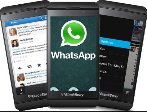 how to install whatsapp on blackberry 10 devices