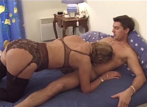 French Mature Milf In Stockings Fucks A Guy Free Porn Fe