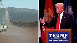 Donald Trump explains plan to fund wall along US-Mexico ...