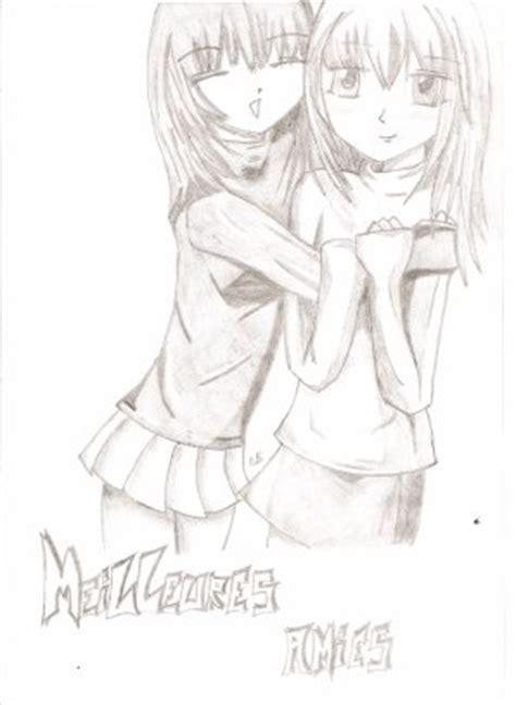 meilleures amies dessin