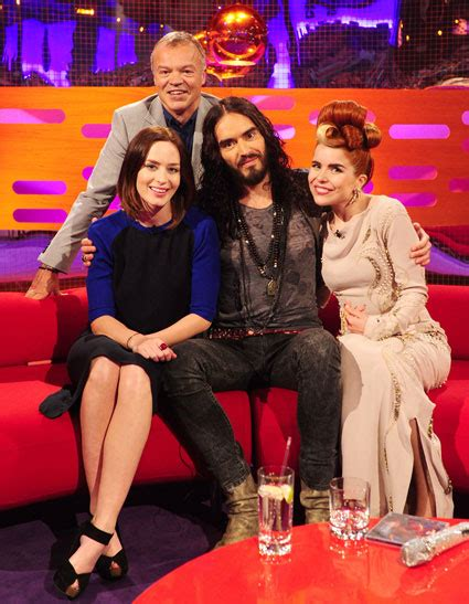 russell brand on graham norton tv watch the graham norton show welcomes emily blunt