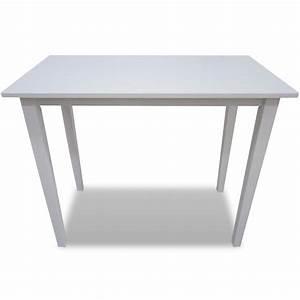 Table Bar Bois : acheter table de bar blanche en bois pas cher ~ Teatrodelosmanantiales.com Idées de Décoration