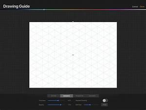 Procreate 4 3 Tutorial  U2013 Drawing Guide Tool