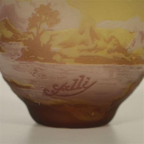 vaso galle vaso in stile gall 233 oggettistica bottega 900
