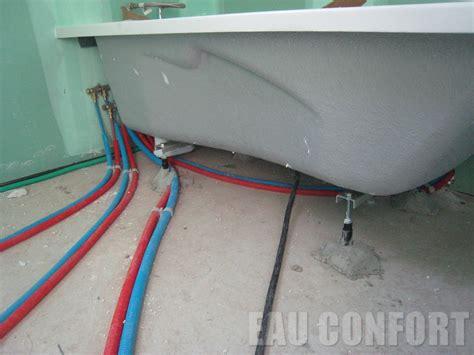 3 baignoire avec rails de renforts sur les murs joint d 233 tanch 233 it 233 et scellement au sol et