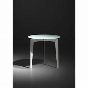Couchtisch Weiß Glas : beistelltisch wei glas metall couchtisch wei glasplatte metallgestell durchmesser 50 cm ~ Eleganceandgraceweddings.com Haus und Dekorationen