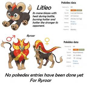 litleo and ryroar