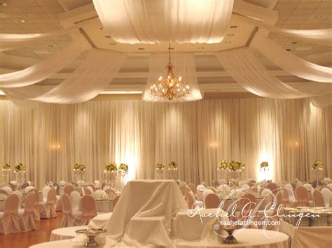 draping wedding decor toronto rachel  clingen wedding