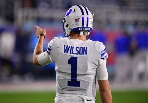 This section compares his draft workout metrics with players at the same position. NY Jets: BYU QB Zach Wilson declares for 2021 NFL Draft