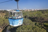 Teleferico, cable car, Casa de Campo Park, Madrid, Spain ...