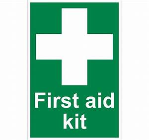 Gallery First Aid Kit Sign