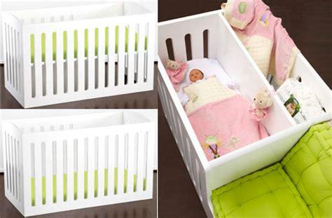 berceau bebe avec espace calin avec maman et lit enfant