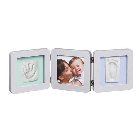cadre photo bebe avec empreinte cadre photo modern 3 volets avec 2 empreintes pastel 10 sur allob 233 b 233