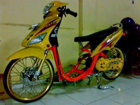 Modifikasi Mio Drag by Foto Modifikasi Motor Mio Sporty J Soul Terbaru Otomotif