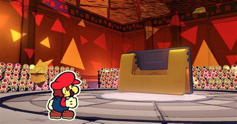 hole punch boss fight guide paper mario  origami