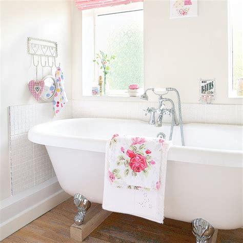 shabby chic bathroom ideas uk vintage floral bathroom housetohome co uk
