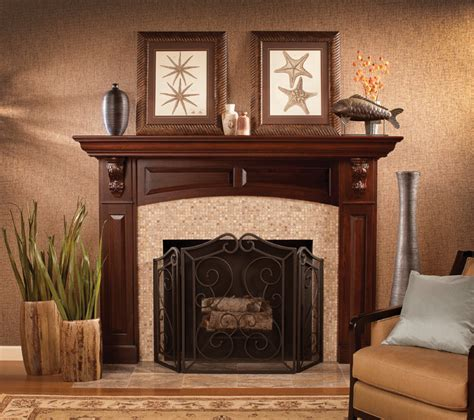 20 Traditional Fireplace Mantel Design Ideas (WITH PICTURES)