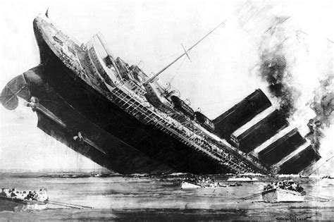 Where Did The Lusitania Sink by One Hundred Years After The Lusitania Was Torpedoed David