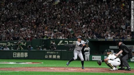 Ichiro Suzuki Batting Average by Ichiro Suzuki Retires After Illustrious Mlb Career Cnn