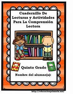 Cuadernillo de lecturas y actividades para la comprensión lectora para quinto grado de primaria