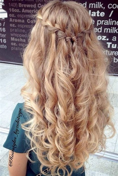 24 stunning prom hairstyles for long hair prom
