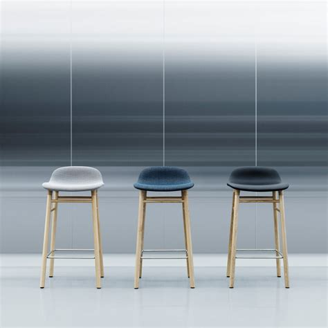 Norman Bar Stools by Form Bar Stool 65 Cm By Normann Copenhagen
